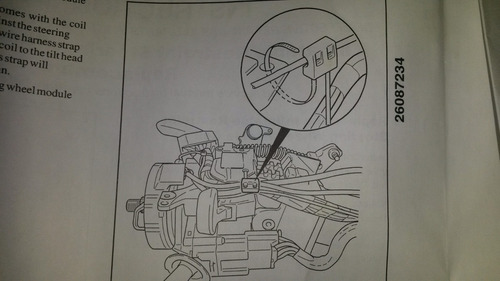 cinta airbag tahoe - silverado gm original.