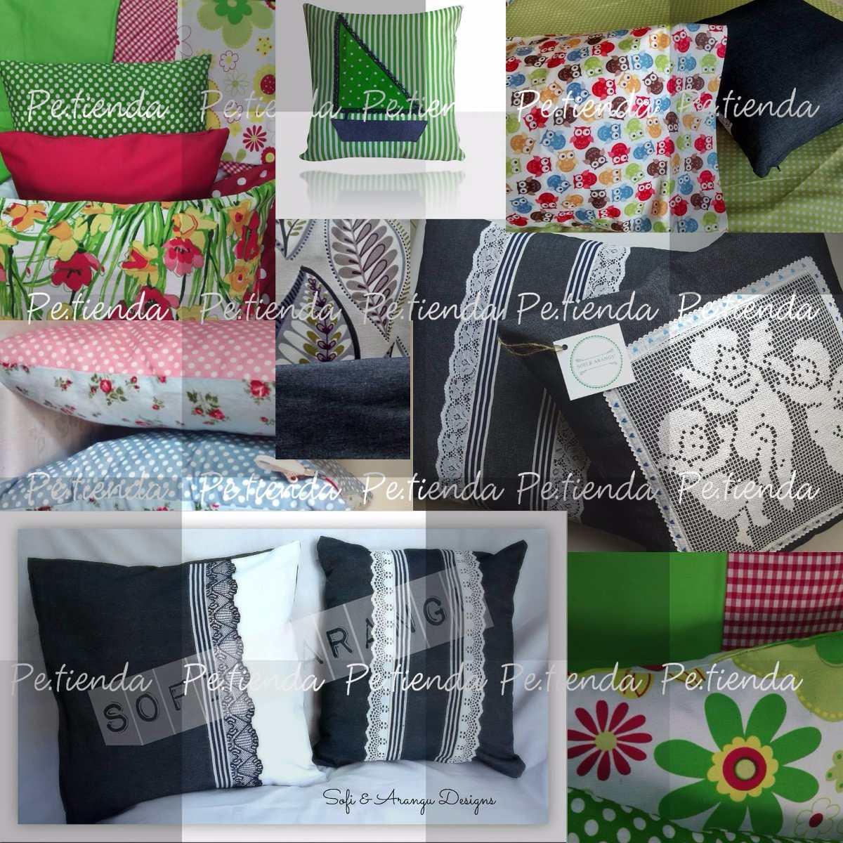 Cojines decorativos artesanales hechos a mano bs - Cojines hechos a mano ...