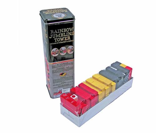 juegos didácticos de mesa familiar jenga gigante 48 piezas
