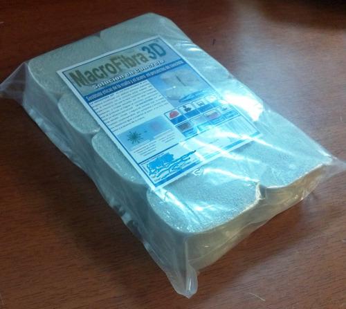 macrofibra 3d sustituto de la malla truckson(paquete 8 mazo)