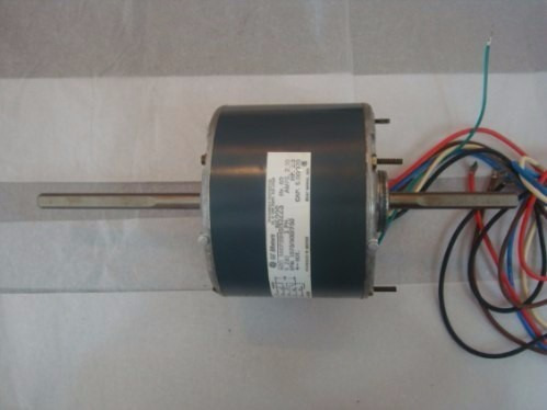 motor ventilador doble eje 1/3 hp general electric n522s