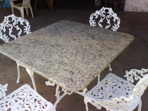 Muebles de jardin de hierro fundido recibos comedores for Muebles de jardin de hierro