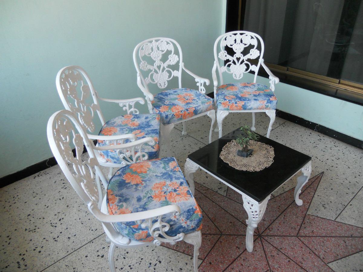 muebles de jardin de hierro fundido recibos comedores