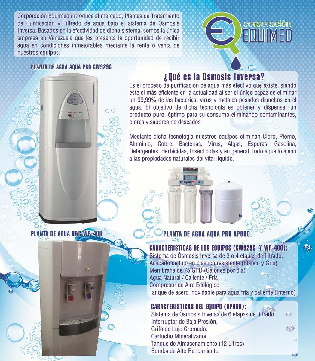 Planta de tratamiento de agua por osmosis inversa aquapro - Agua de osmosis ...
