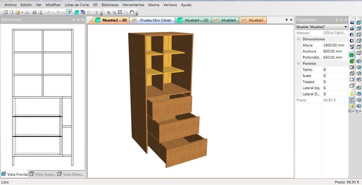 Image Of Programa De Diseno De Muebles De Cocina En Melamina Diseño ...