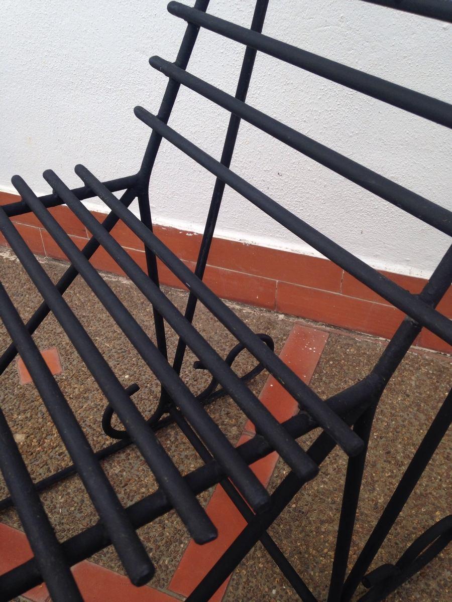 Silla de hierro forjado bs en mercado libre - Sillas en hierro forjado ...
