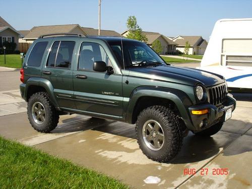 suspension cherokee liberty jeep kk kj 2 pulg