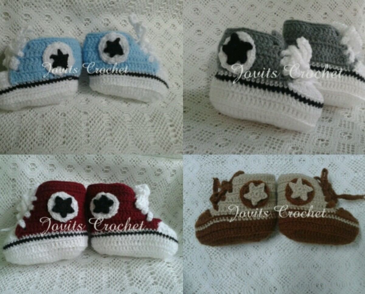 Akileos Zapatos Niños Para Converse Crochet En rXqYXxw